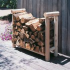FIREWOOD RACK LOG, 3 Ft